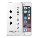 AESTHETERATI TRIPLE STAR Premium Apple iPhone 6 Case White Color